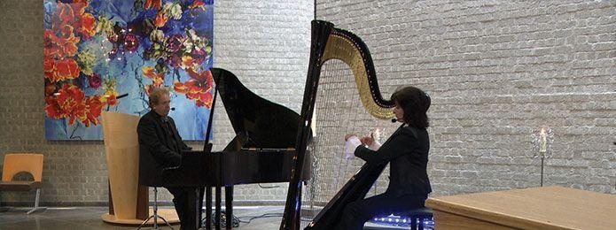 Harp header